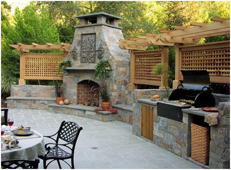 Amazing Outdoor Barbecue Kitchen Designs