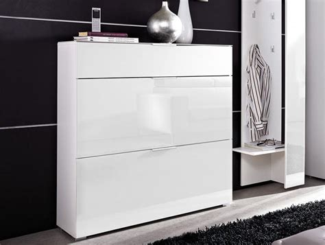 white shoe cabinet primera moderndrawer anddoor white glass shoe cabinet