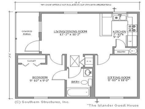 small guest house floor plans floor plans for small houses the bath small house