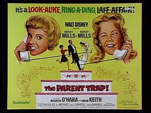 The Parent Trap movie poster - Hooked on Houses