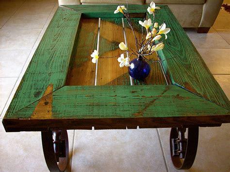 art  recycling  doors  stylish tables