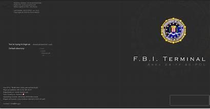 Fbi Investigation Federal Bureau Wallpapers Logon Terminal