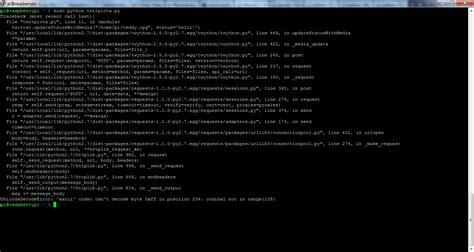 ordinal not in range 128 unicodedecodeerror ascii codec can t decode byte 0xff in position 247 ordinal not in range 128