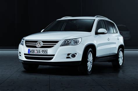 Specifications, standard features, options, fabrics, accessories and colors are subject to change without notice. Volkswagen Tiguan 2007 - 2011 reviews, technical data, prices