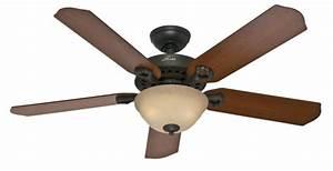 Quot bronze brown ceiling fan bellwood hunter