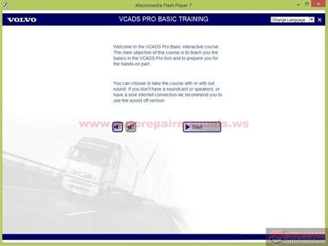volvo vcads pro basic training auto repair manual forum