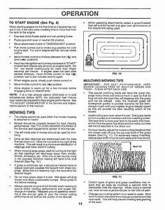 Page 14 Of Craftsman Lawn Mower 917 252560 User Guide