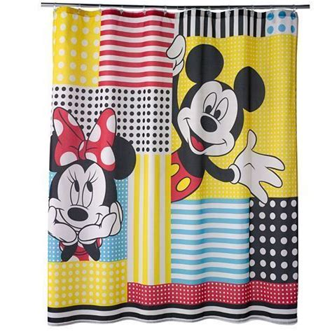 1000 ideas about mickey mouse shower curtain on