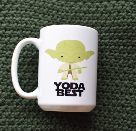 Yoda best teacher ever star wars mug unique coffee mugs teacher. 50 Unique Star Wars Gifts - Domestically Blissful