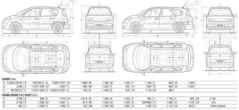 renault scenic 2009 dimensions