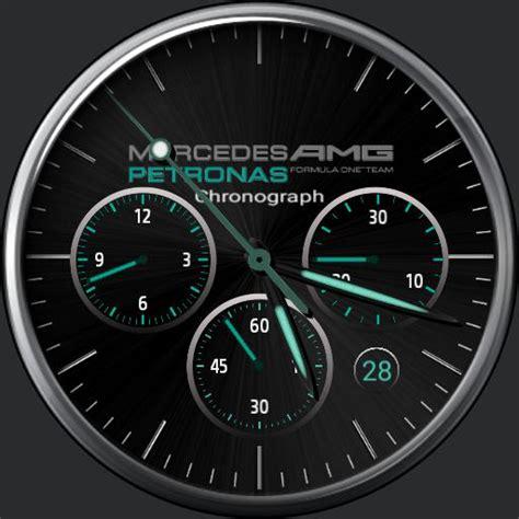 mercedes amg formula petronas edition watchfaces