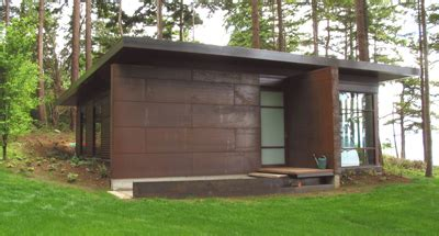 Exterior Options For Metal Buildings by Cor Ten Architectural Siding BUILD Blog