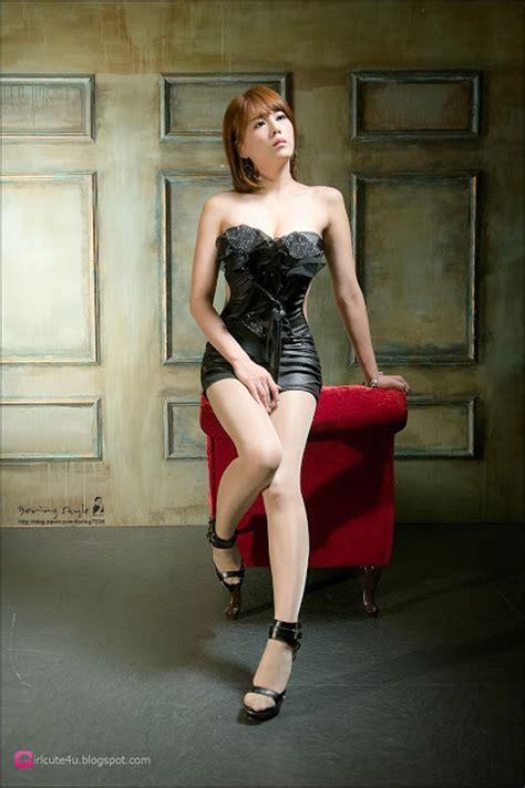 Xxx Nude Girls Lee Mi Jung In Black