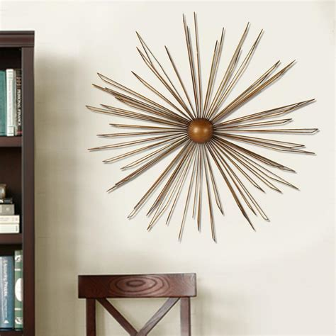 home decorators collection 32 in multi colored metal wall decor 1004300910 the home depot