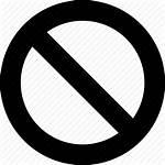 Icon Ban Abort Raw Simple Deny Cancel