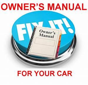 Pontiac Aztek 2002 Owners Manual