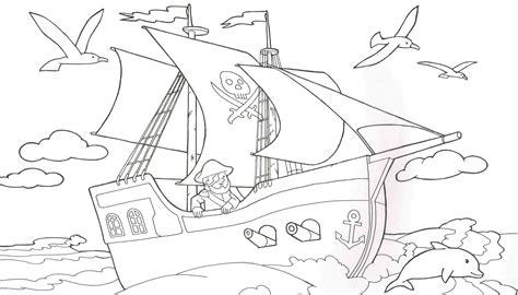 malvorlagen piratenschiff zum ausdrucken  blog innen