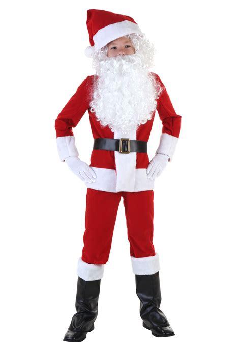 child santa costume