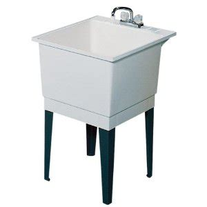 Stainless Steel Utility Sink Drop In by A Slop Sink Helps Any Garage But Pick The Right One