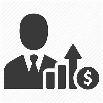 Icon Manager Business Profit Icons Increase Income