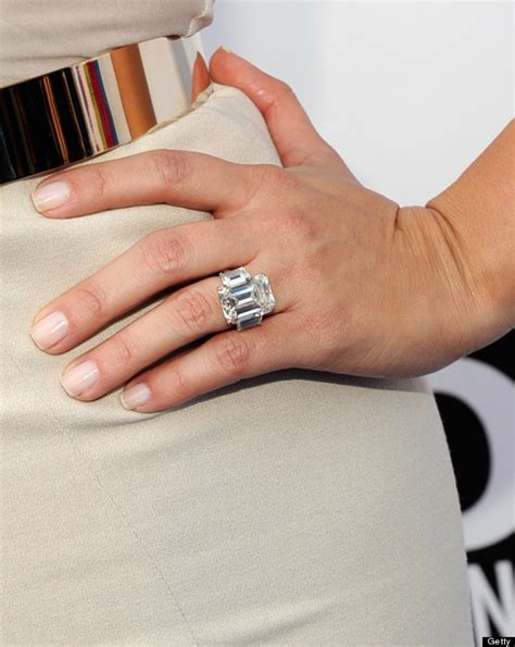 kim kardashian s ring from kanye is smaller than her last