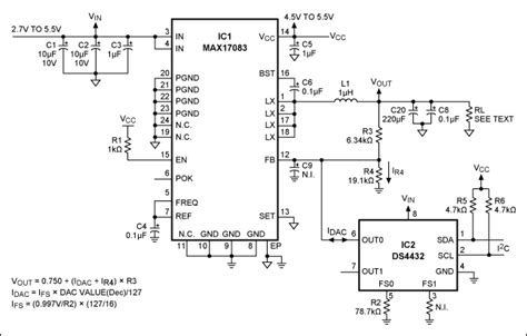 Step Down Regulator Has Programmable Voltage Output