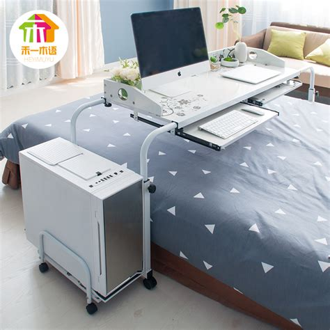 bed laptop desk ikea table that slides bed nazarm