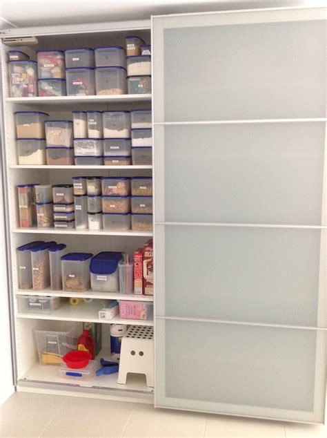 ikea pax wardrobe    kitchen pantry