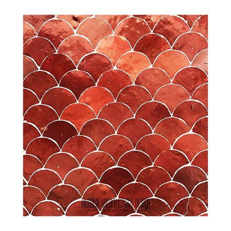 zellige tile moroccan fish scales mosaic tile