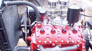 Ford Flathead 239 8ba Rebuilt Engine Running