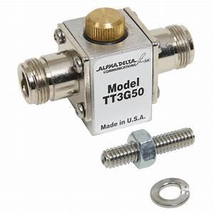 Alpha Delta N Connector Coaxial Cable Surge Protectors