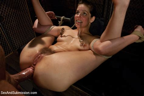 Bobbi Starr Endures Rough Sex And Hard Bondage From Nacho