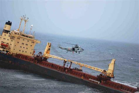 ship near mumbai sinks 30 crew members rescued photo gallery