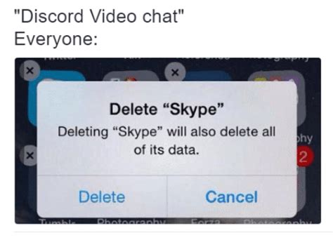 Discord Video Chat Everyone Delete Skype Deleting Skype