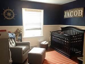 Baby Boy Room Design Ideas Nautical Boy Orange And Navy Nursery Project Nursery