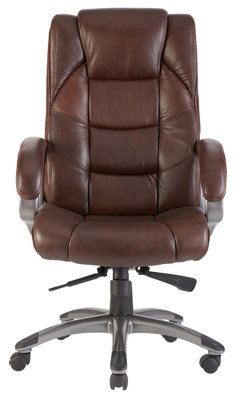 high back soft feel leather executive office chair