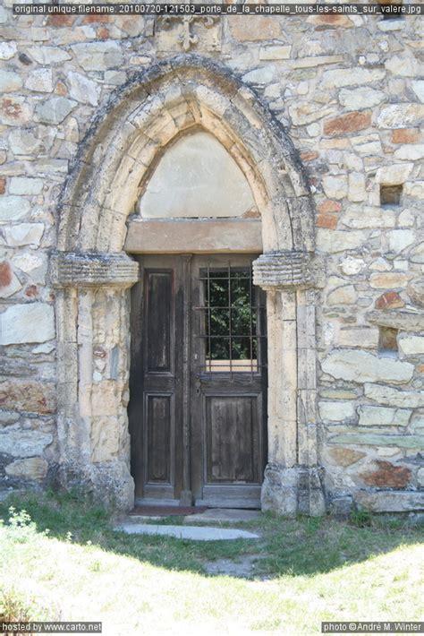 porte de la chapelle tous les saints sur val 232 re sion juillet 2010