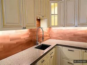copper kitchen backsplash, Copper Subway Tile Backsplash
