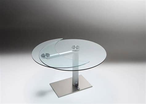 tavoli allungabili in vetro prezzi tavolo rotondo allungabile in vetro tavolo 80x80