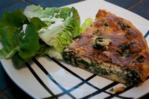 cuisiner epinard en boite recette de quiche épinards et thon