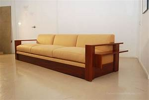 designer sectional sofas with exposed wood sofa design With wooden sectional sofa designs