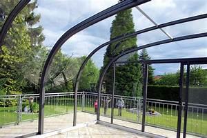 Abri De Terrasse Retractable : abri de terrasse mod le saphir au galbe arrondi la solar ~ Dailycaller-alerts.com Idées de Décoration