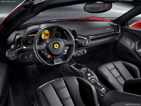 458 Spider Interior by 458 Italia Your Source For Car