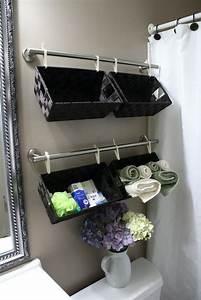 astuce rangement salle de bain en quelques idees utiles With rangement pratique salle de bain