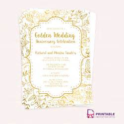 save the date sles golden wedding invitation template wedding invitation ideas