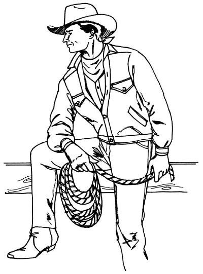 draw  cowboy   steps howstuffworks