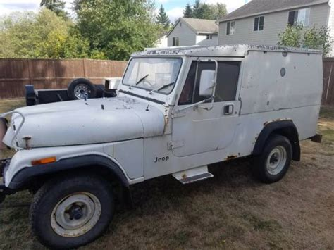 postal jeep for sale 2 1984 alaskan postal jeep cj8 scramblers for sale jeep