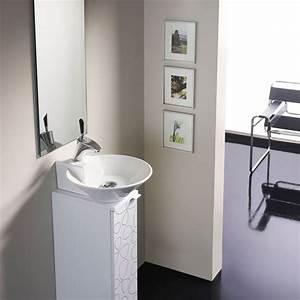 Gäste Wc Badmöbel : badm bel g ste wc waschbecken waschtisch handwaschbecken spiegel biarritz 20cm ebay ~ Frokenaadalensverden.com Haus und Dekorationen