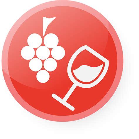 bocal cuisine image vectorielle gratuite vin verre icône vector