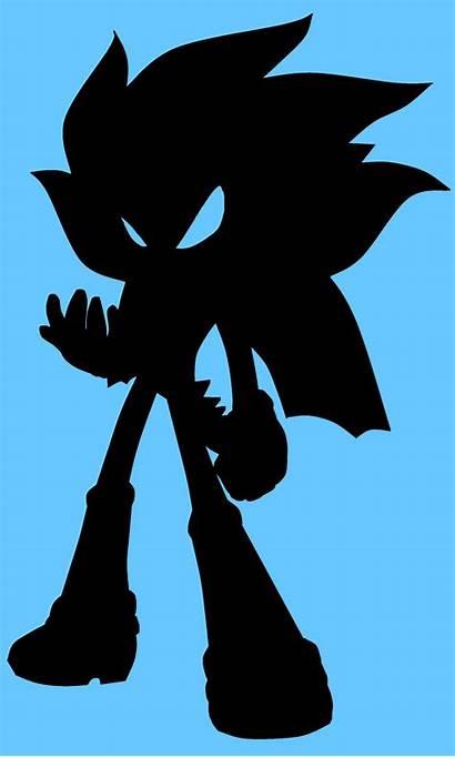Sonic Silhouette Characters Fan Shadow Dragon Fanpop